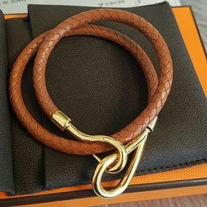 Hermes Jumbo necklace bracelet